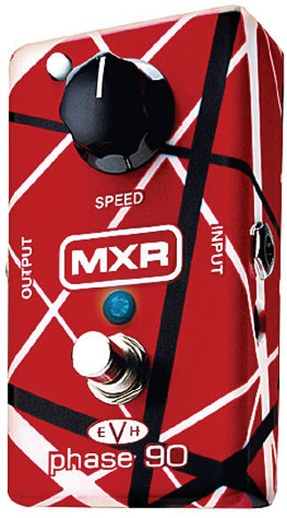 mxr phase 90 evh guitar effects pedal phaser. Black Bedroom Furniture Sets. Home Design Ideas