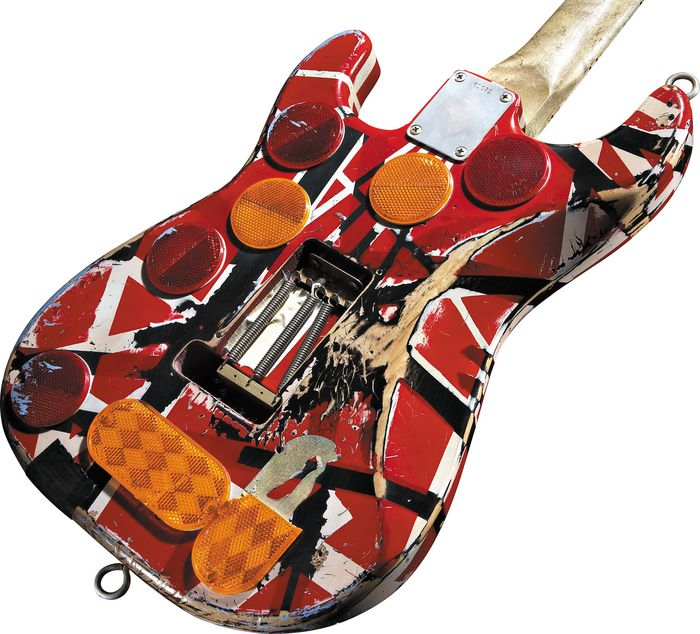 d7de79ba08f EVH Frankenstein Replica Guitar – SixStringZone.com