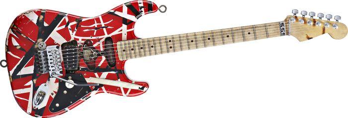 evh frankenstein replica guitar. Black Bedroom Furniture Sets. Home Design Ideas